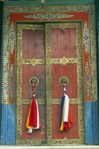 4347656-old-temple-door-decorated-with-tassels-at-thikse-buddhist-monastery-ladakh-india