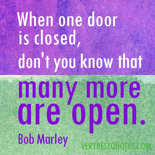 Quotes About Doors Simple Door Quote