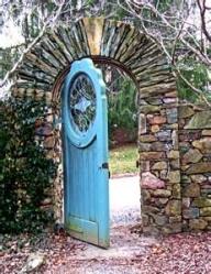 A door ajar